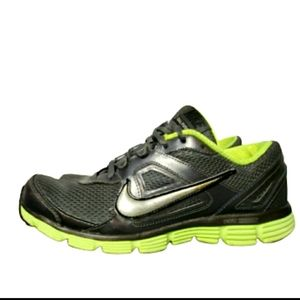 NIKE DUAL FUSION ST |  GRAY AND NEON GREEN